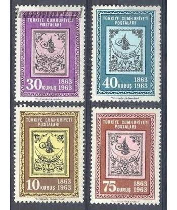 Turcja 1963 Mi 1850-1853 Czyste **