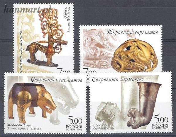 Russia 2005 Mi 1232-1235 MNH