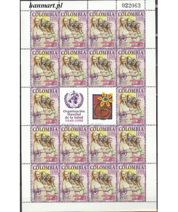 Kolumbia 1998 Mi ark 2084 Czyste **