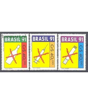 Brazylia 1991 Mi 2407-2409 Czyste **