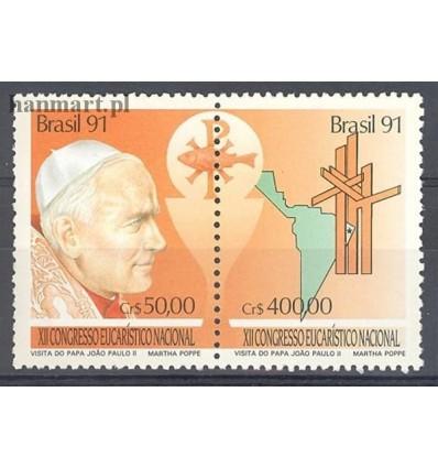 Brazylia 1991 Mi 2429-2430 Czyste **
