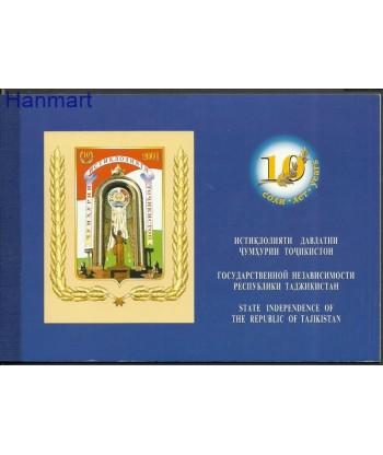 Tadżykistan 2001 Mi mh189-193 Czyste **
