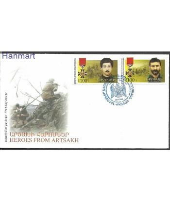 Karabach 2015 Mi 112-113 FDC