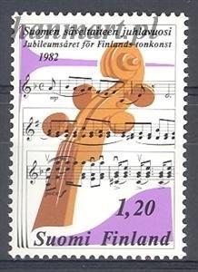 Finlandia 1982 Mi 896 Czyste **