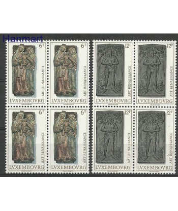 Luksemburg 1976 Mi vie933-934 Czyste **