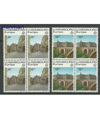 Luksemburg 1977 Mi vie945-946 Czyste **