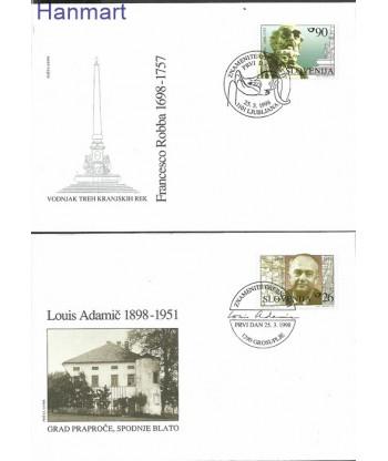 Słowenia 1998 Mi 223-224 FDC