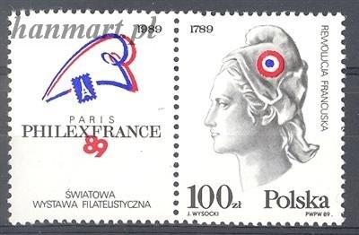 Poland 1989 Mi zf 3204 MNH