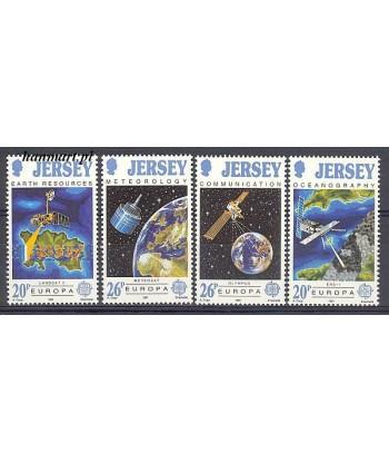 Jersey 1991 Mi 539-542 Czyste **