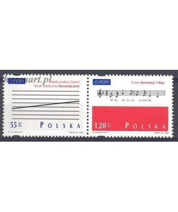 Polska 1998 Mi 3714-3715 Czyste **