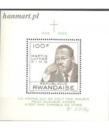Rwanda 1968 Mi bl 14 Czyste **