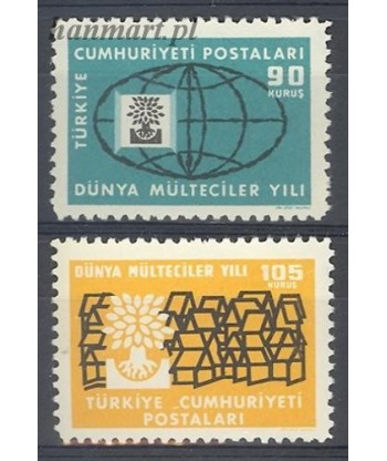 Turcja 1960 Mi 1729-1730 Czyste **