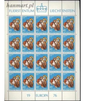 Liechtenstein 1976 Mi ark 642 Czyste **