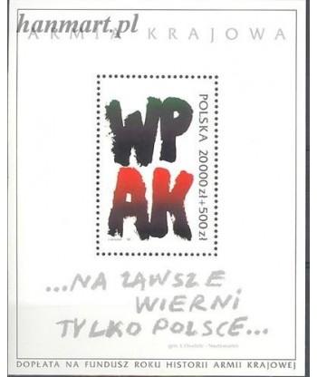 Polska 1992 Mi bl120I Czyste **