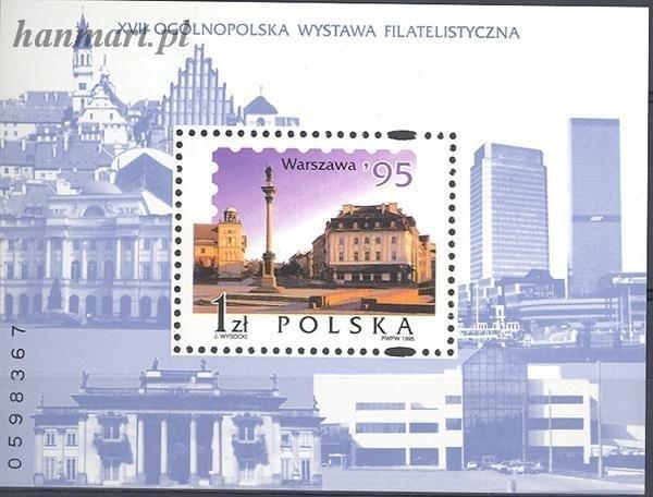 Polska 1995 Mi bl 127 Fi bl 157...