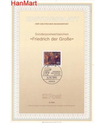 Berlin Niemcy 1986(9) Mi  FDC