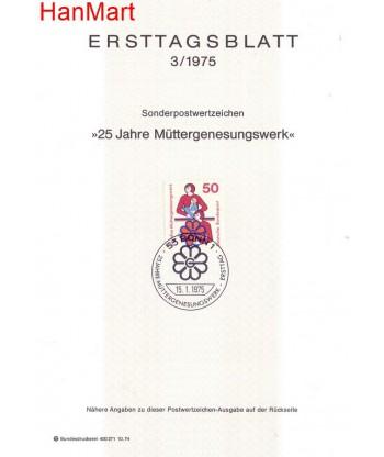 Niemcy 1975(3) Mi  FDC