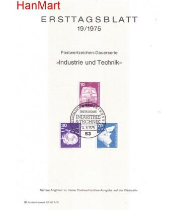 Niemcy 1975(19) Mi  Pierwszy dzień wydania