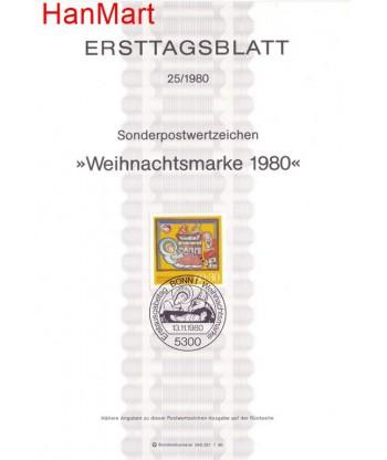 Niemcy 1980(25) Mi  Pierwszy dzień wydania