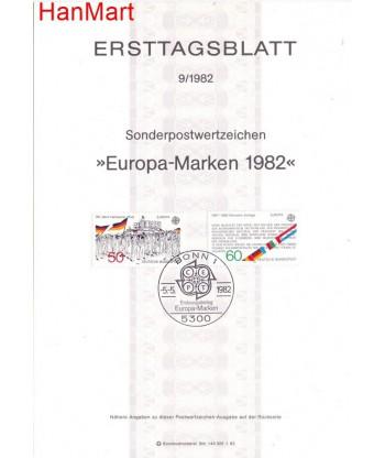 Niemcy 1982(9) Mi  Pierwszy dzień wydania