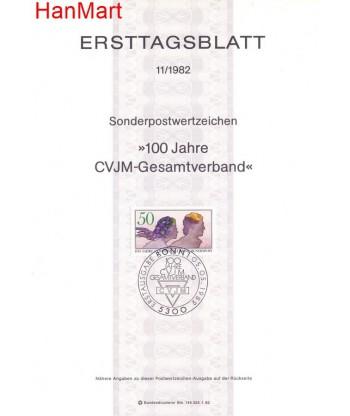 Niemcy 1982(11) Mi  Pierwszy dzień wydania