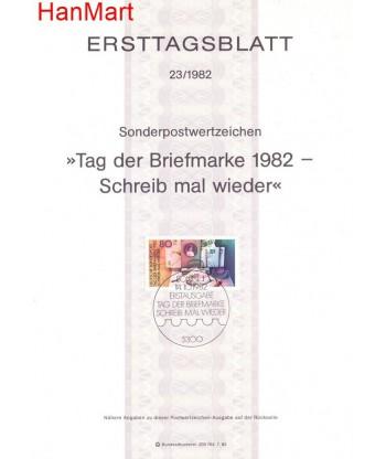 Niemcy 1982(23) Mi  Pierwszy dzień wydania