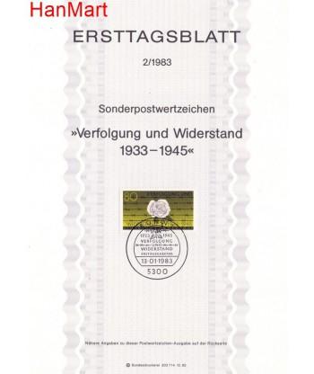 Niemcy 1983(2) Mi  Pierwszy dzień wydania