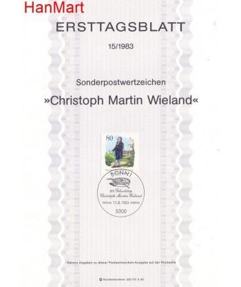 Niemcy 1983(15) Mi  Pierwszy dzień wydania
