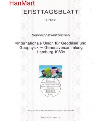 Niemcy 1983(19) Mi  Pierwszy dzień wydania