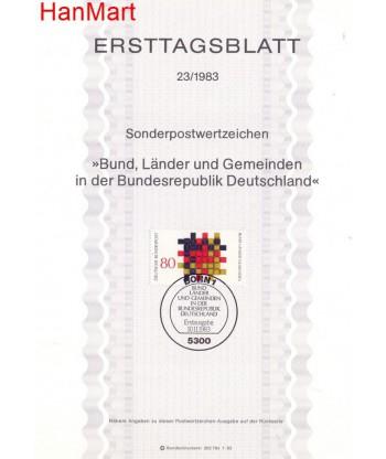 Niemcy 1983(23) Mi  Pierwszy dzień wydania