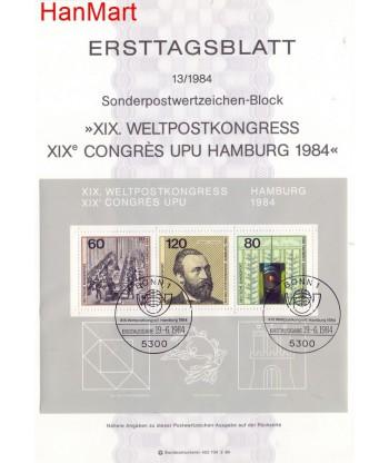 Niemcy 1984(13) Mi  Pierwszy dzień wydania