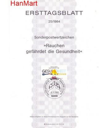 Niemcy 1984(25) Mi  Pierwszy dzień wydania