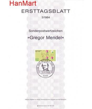 Niemcy 1984(3) Mi  Pierwszy dzień wydania