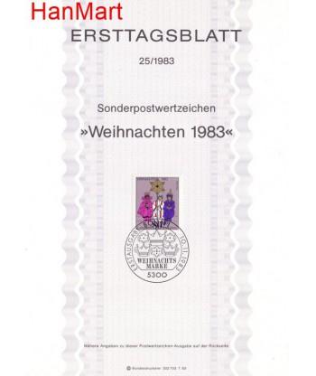 Niemcy 1983(25) Mi  Pierwszy dzień wydania
