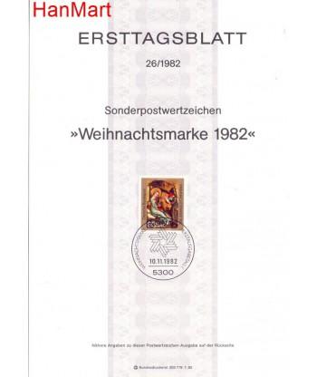 Niemcy 1982(26) Mi  Pierwszy dzień wydania