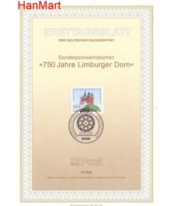 Niemcy 1985(12) Mi  Pierwszy dzień wydania
