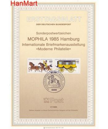 Niemcy 1985(17) Mi  Pierwszy dzień wydania