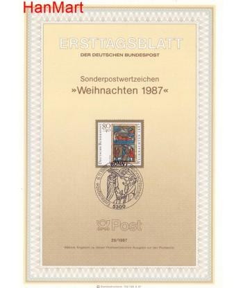 Niemcy 1987(29) Mi  Pierwszy dzień wydania