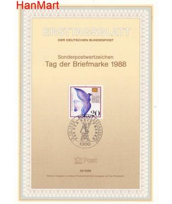 Niemcy 1988(28) Mi  Pierwszy dzień wydania