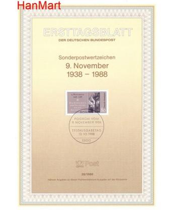 Niemcy 1988(29) Mi  Pierwszy dzień wydania