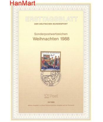 Niemcy 1988(33) Mi  Pierwszy dzień wydania