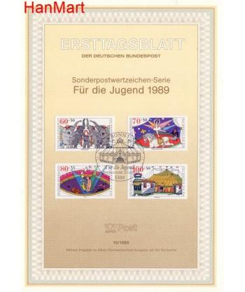 Niemcy 1989(10) Mi  Pierwszy dzień wydania