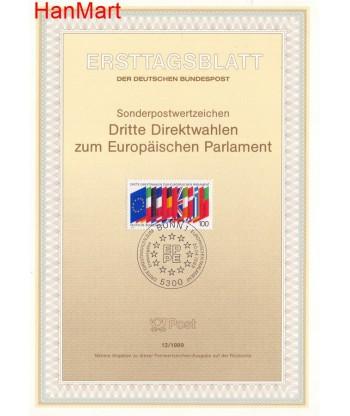 Niemcy 1989(12) Mi  Pierwszy dzień wydania