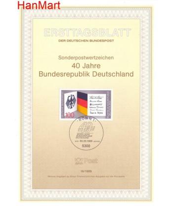 Niemcy 1989(16) Mi  Pierwszy dzień wydania