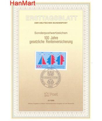 Niemcy 1989(21) Mi  Pierwszy dzień wydania