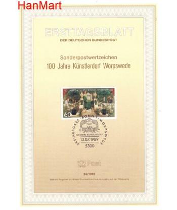 Niemcy 1989(24) Mi  Pierwszy dzień wydania