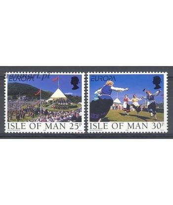 Wyspa Man 1998 Mi 778-779 Czyste **