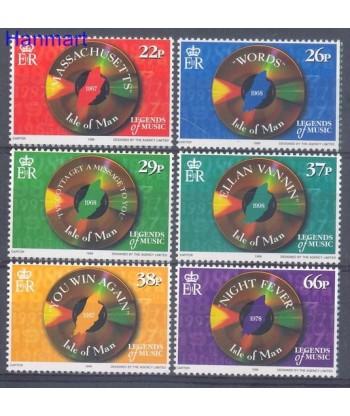 Wyspa Man 1999 Mi 835-840 Czyste **