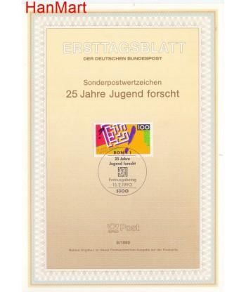 Niemcy 1990(9) Mi  Pierwszy dzień wydania