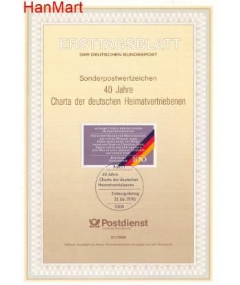 Niemcy 1990(21) Mi  Pierwszy dzień wydania